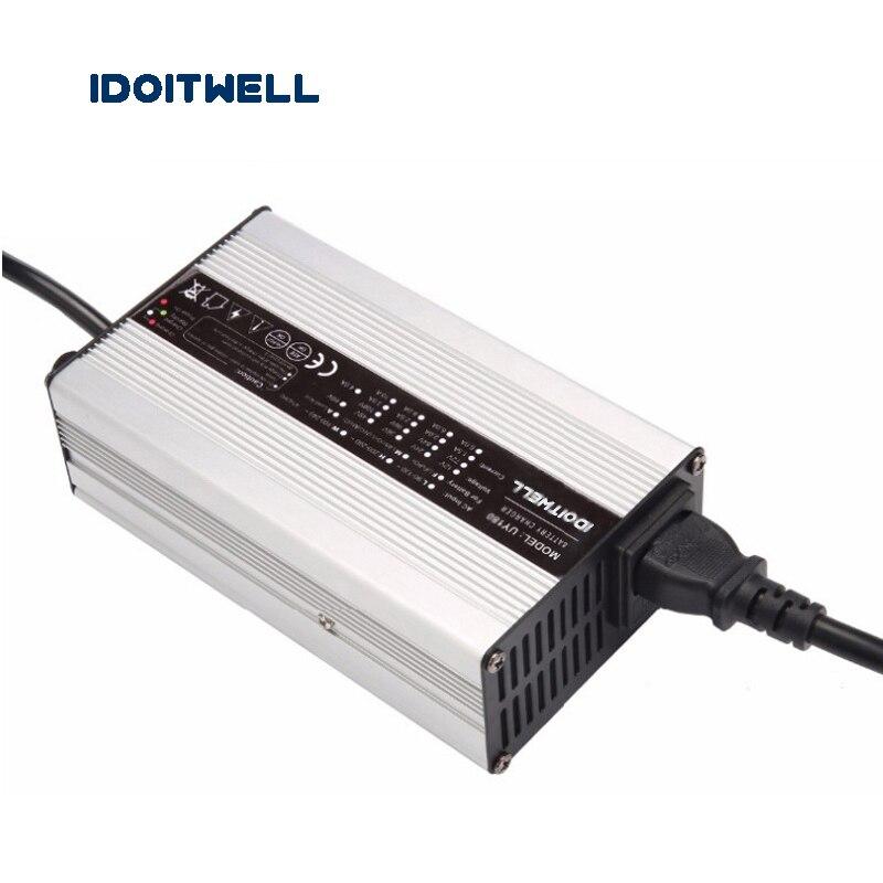 Su Misura 24V 7A 5A Batteria Caricatore di Corrente 2 Fasi Regolabile Manualmente Veloce Intelligente 24V Caricatore per Lifepo4 Li Ion acido - 4