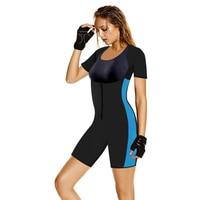Sıcak Şekillendirme Ince Külot Bel Eğitmen Neopren Vücut Şekillendirici Redu Cincher Bodysuit Zayıflama Iç Çamaşırı Tam Shapewear Sauna Takım Elbise