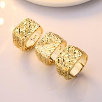 טבעת גולדפילד עם גוון יוקרתי לגבר