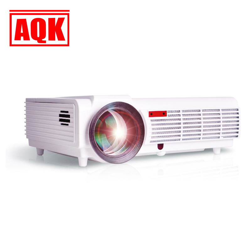 New Arrival! Brightness 5500 Lumens Long life LED lamp Full HD LED home cinema projector 3D lcd Multimedia video game Projector