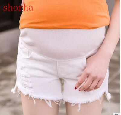 Maternity pregnancy jeans Summer Multi-style jeans Pants for pregnant Cave pregnant women white thin section jeans pregnancy