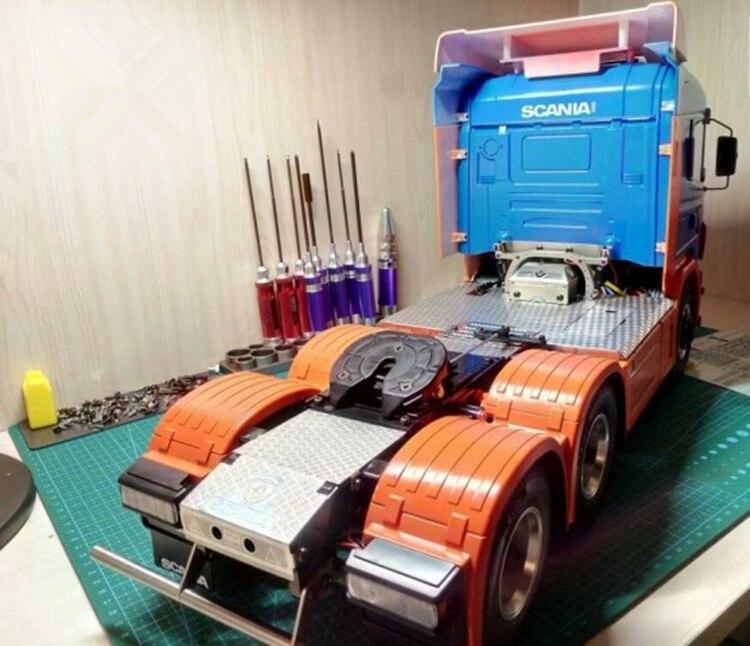 1/14 Échelle RC Pièces De Voiture Tamiya Tracteurs Remorque Décoration Plaque Plaque antidérapante Scania R620 R470 56323 56327
