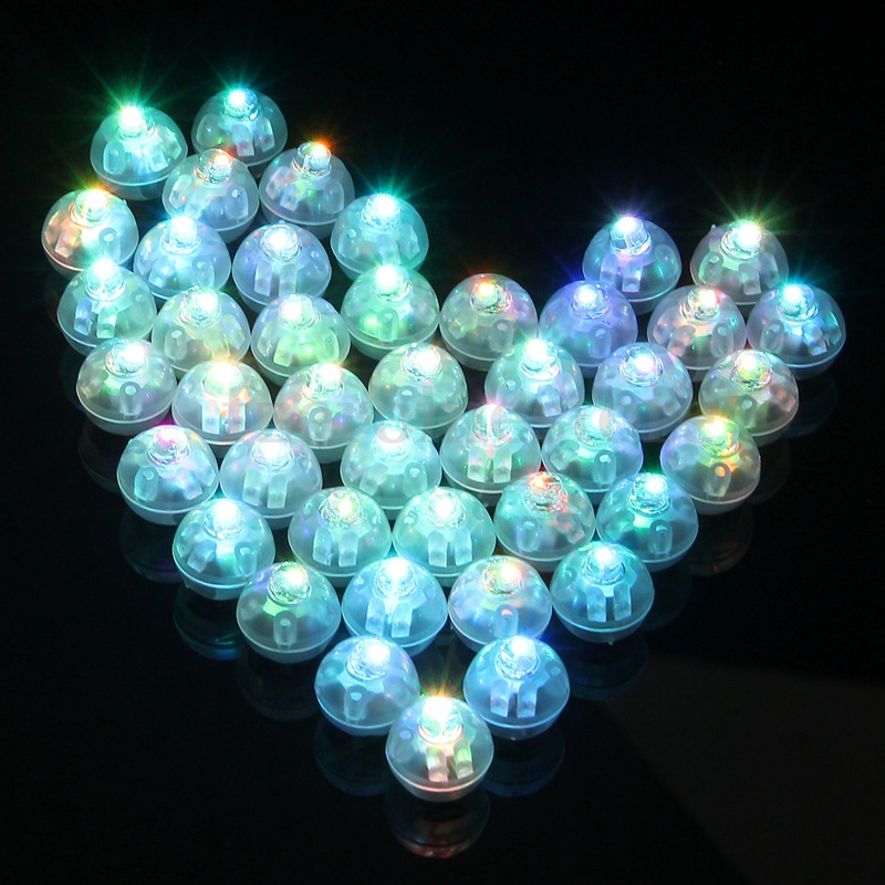 Hot Sale Round Ball Tumbler LED Balloon Lights Mini Flash Luminous Lamps For Lantern Bar Christmas Wedding Party Decoration
