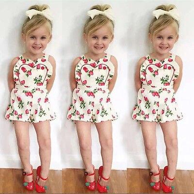 2016 Sommer Baby Strampler Erdbeere Printed Mädchen Overall Kleinkind Mädchen Kleidung Neugeborenen Kleidung Säuglings Kinder Kostüme