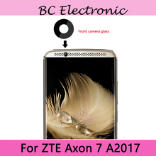 Original For ZTE Axon 7 Axon7 A2017 A 2017 Rear Front Small Camera Glass Lens Replacement Repair