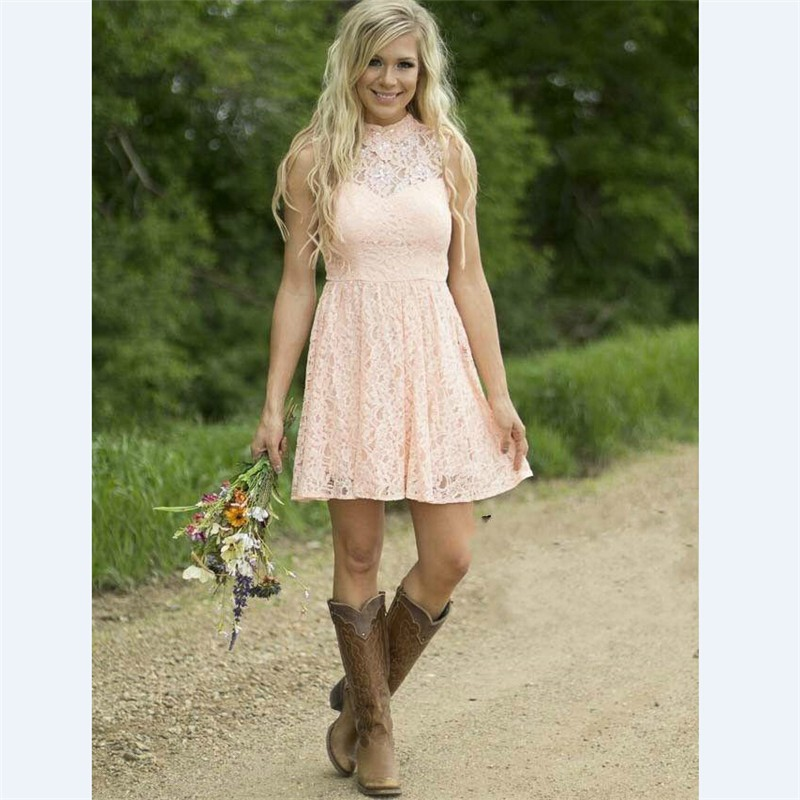 Country dresses for weddings wedding ideas for Bridesmaid dresses for a rustic wedding