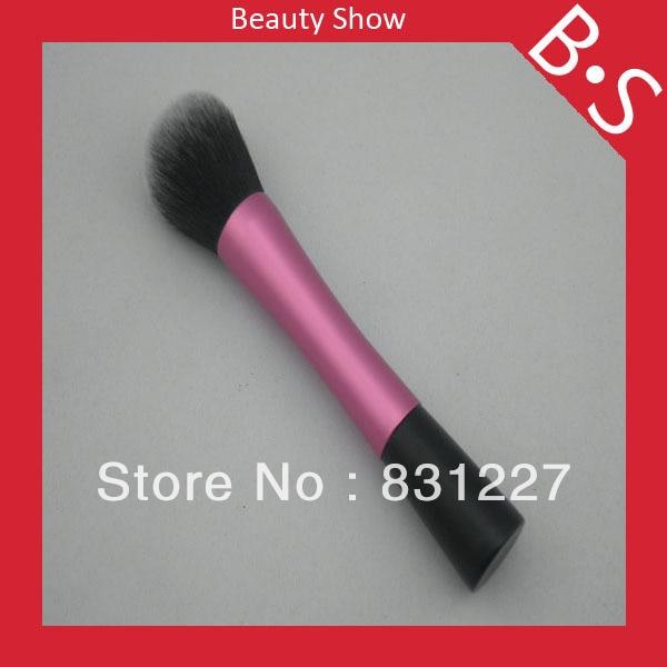 Επαγγελματική επίπεδη βούρτσα ροζ - Μακιγιάζ - Φωτογραφία 3