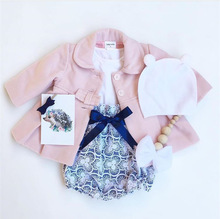 INS детской одежды взрыв, осень и зима одежда и овечьей шерсти пальто девушки