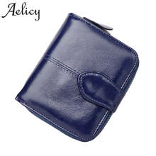 Aelicy Fashion Wallet Women Purse Female High Quality Wallet Leather Multifunction Purse Small Money Bag Coin Pocket Wallet