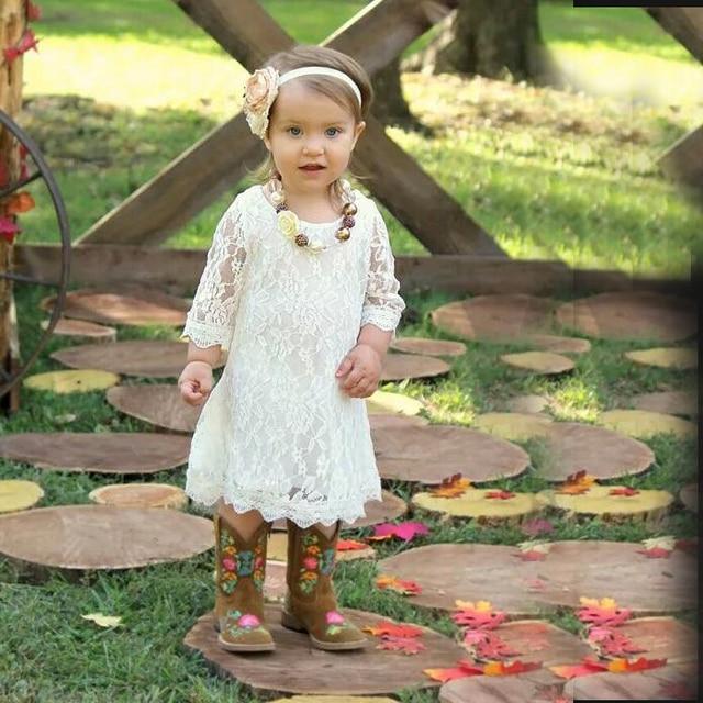 White Toddler Summer Dresses