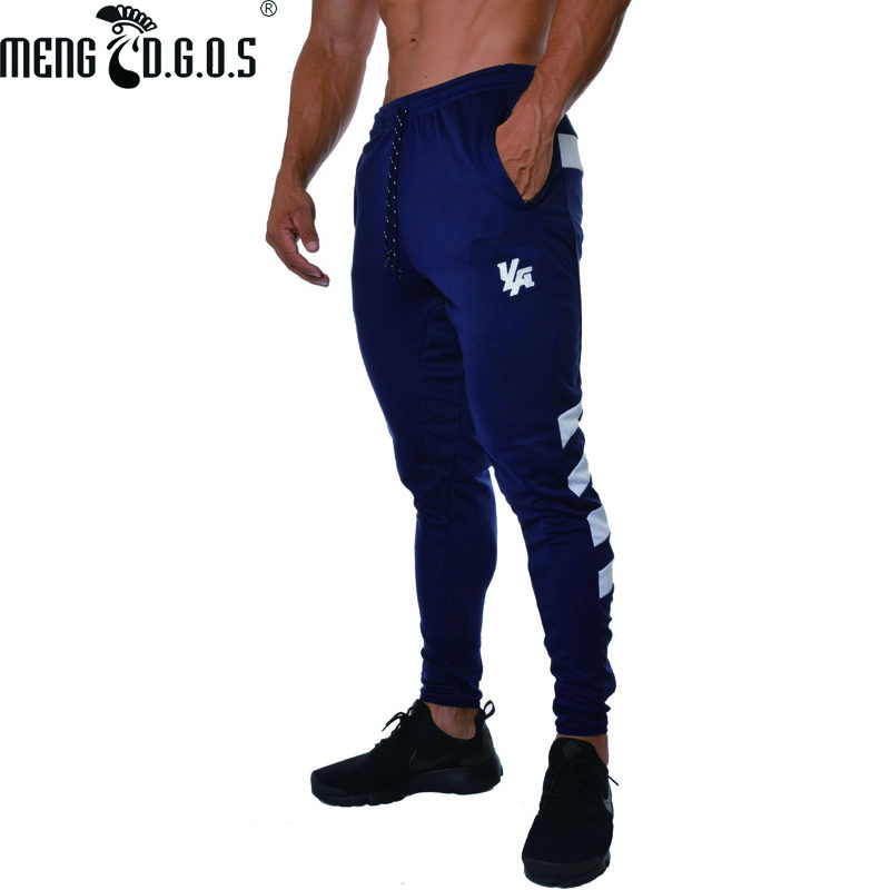 Fashion men's 2018 fitness men's Sweatpants trend men's casual pants gyms men's exercise pants Jogger fitness clothing