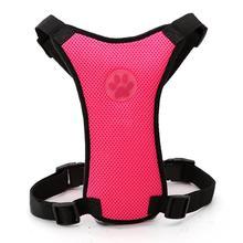 Soft Nylon Mesh Dog Car Seat Harness