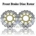 Gold Front Brake Disc Rotor for Honda CBR 600 600F F4i SPORT 01-02 CB 900 900F HORNET 02-06 Motorcycle D15