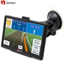 Junsun Unidades de 7 pulgadas Sistema de Navegación GPS Portátil Coche 8 GB/256 MB Pantalla Capacitiva Camión Vehículo GPS Sat Nav Mapa Gratuito de Actualización