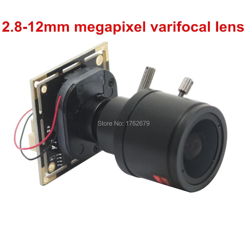 Free shipping 2MP 1920*1080 1080P MJPEG mini CMOS OV2710 2.8-12mm varifocal lens usb camera module for video recorder 2mp 1920 x 1080 wide view 2 1mm lens mini 38x38mm camera module h 264 mjpeg yuy2 video output usb webcam