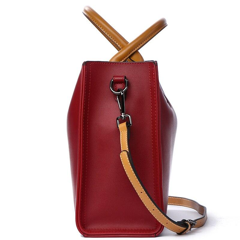 Image 2 - BVLRIGA Luxury Handbags Women Bags Designer Famous Brands Genuine  Leather Bag Female Crossbody Messenger Shoulder Bag Tote Baggenuine  leather bagbrand tote bagdesigner tote bag