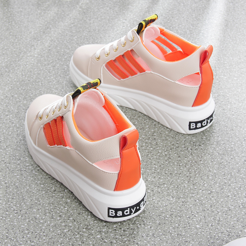 2018 summer new thick sandals womens hollow breathable high white shoes loose cake thick bottom wild casual shoes2018 summer new thick sandals womens hollow breathable high white shoes loose cake thick bottom wild casual shoes