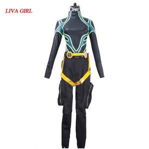 Persona 5 Косплей футаба Сакура костюм боевой одежды