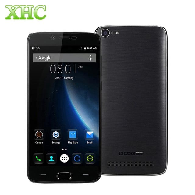 Original 4g doogee y200 2 gb + 32 gb 5.5 ''android 5.1 smartphone mt6735 64-bit quad core wcdma fdd-lte 1280x720 3000 mah celular