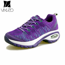 VIXLEO 2017 New Breathable Shake Woman Shoes High Quality Flying Sports Shoes for Women Shoes Zapatillas Deportivas Mujer