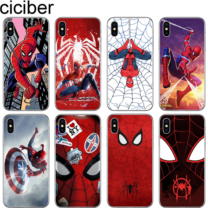cicibers <font><b>Phone</b></font> <font><b>Case</b></font> for iphone 11 Pro Max 7 8 6 S Plus 5 5S SE Soft Silicone TPU Cover for iphone X XR XS MAX <font><b>Marvel</b></font> The Avenger image