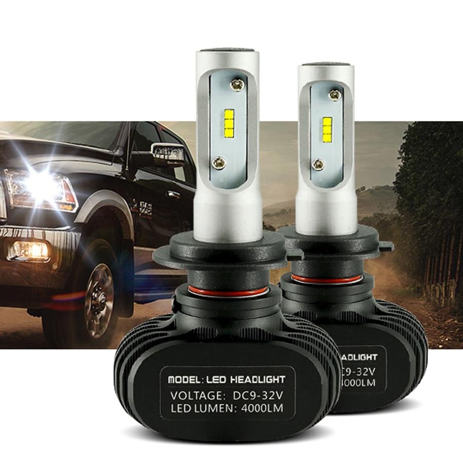 2pcs H11 H4 H7 LED 12V Car Headlight Bulb 9006 9005 H8 H1 Auto Led Automobile