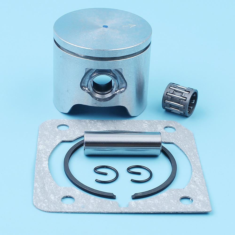 44mm Piston Pin Ring Needle Bearing Cylinder Gasket Kit For Husqvarna 350 351 2150 CS2150 CS2145 Chainsaw 503899671,503899603