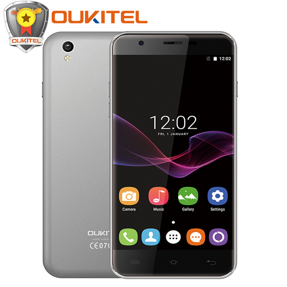 Original Oukitel U7 MAX Mobile phone 5 5 Inch HD MTK6580A Quad Core 1G RAM 8G