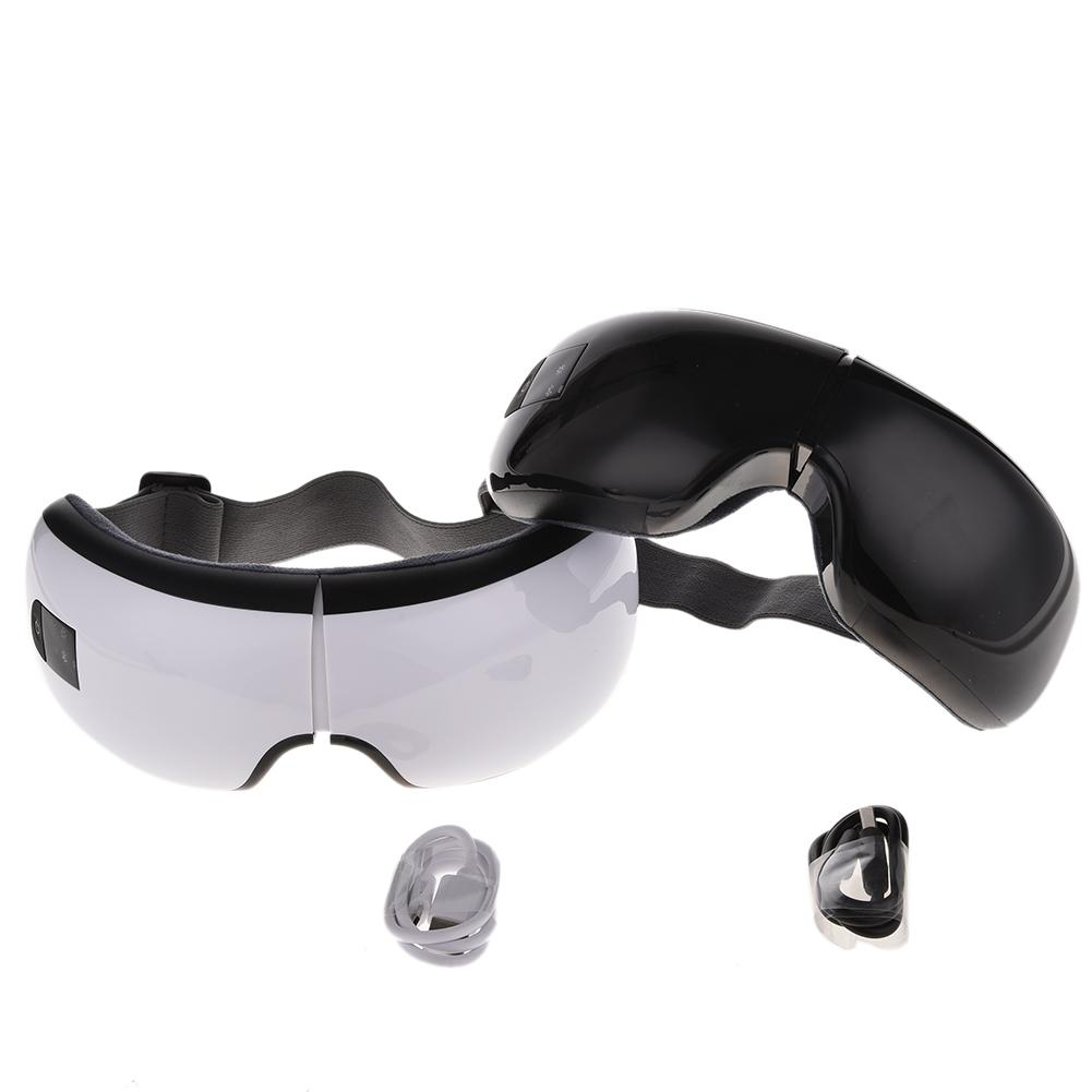 Foldable Hot Compress Electric Eyes Care Device Chargable USB Eye Massager With Bluetooth Music Eye Massager Wrinkle S3 цена