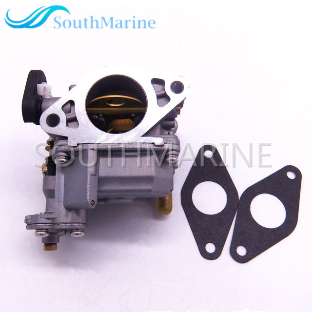 US $67 26 30% OFF|Aliexpress com : Buy 66M 14301 11 66M 14301 00 Carburetor  Assy and 66M 13646 00 Gaskets (2 pcs) for Yamaha 4 stroke 15hp F15 Boat