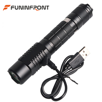 10W High Powerful Ultra Bright CREE XML T6 L2 Rechargeable LED Flashlight 5 Modes 1200 LMs MINI Handheld LED Torch Waterproof