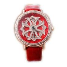 купить 2019 Luxury Brand Lady Leather Watch Women Dress Watch Fashion  Gold Quartz Watches Female Wristwatches Relogio Feminino дешево