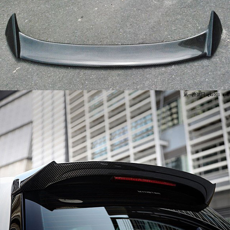 O Style Carbon Fiber Scirocco Roof Spoiler Wing For Volkswagen VW Scirocco 2010~2014 carbon fiber front bumper lip spoiler splitter for vw scirocco 2010 2012
