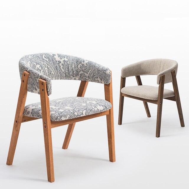 Stuhl Esszimmer mode 100 holz esszimmer stuhl mit armlehnen eiche sofa baumwolle
