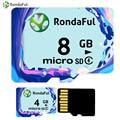 Rondaful Micro SD Card 8GB Class4 4GB-8GB Class 4 UHS-1  c4 Memory Card Flash Memory Microsd for Smartphone