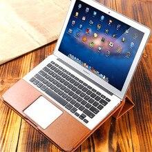 """Importé PU Laptop Sleeve Case Sac pour Macbook 12 Pouces pour Air Retina Pro 11 """"13 Pouce Modèle D'affaires Pliant de Couverture De Cahier"""