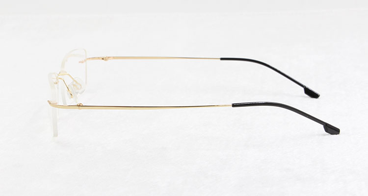 a5b4b390147 BCLEAR Titanium Memory Flexible Rimless Frame Eyeglasses Optical  Prescription Glasses for Women and Men Frame Shape Customized-in Eyewear  Frames from ...
