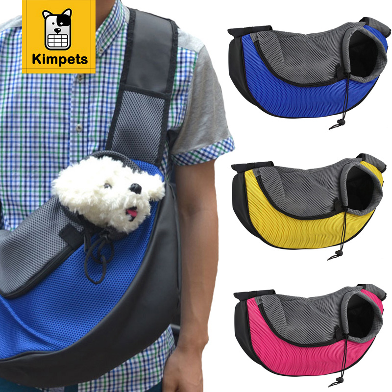 New Pet Dog Cat Puppy Front Carrier Mesh Comfort Travel Tote Shoulder...