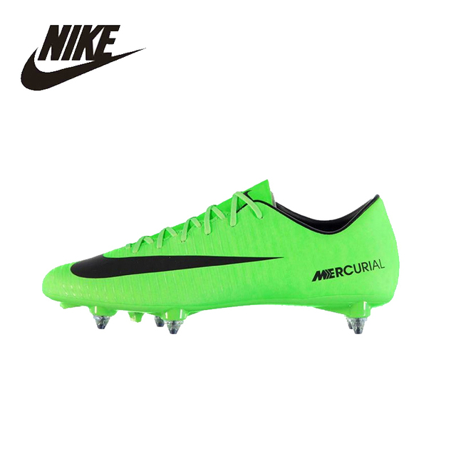 NIKE Original New Arrival Mens VICTORY C Ronaldo Short Nail Training  Football Shoes High Quality Comfortable