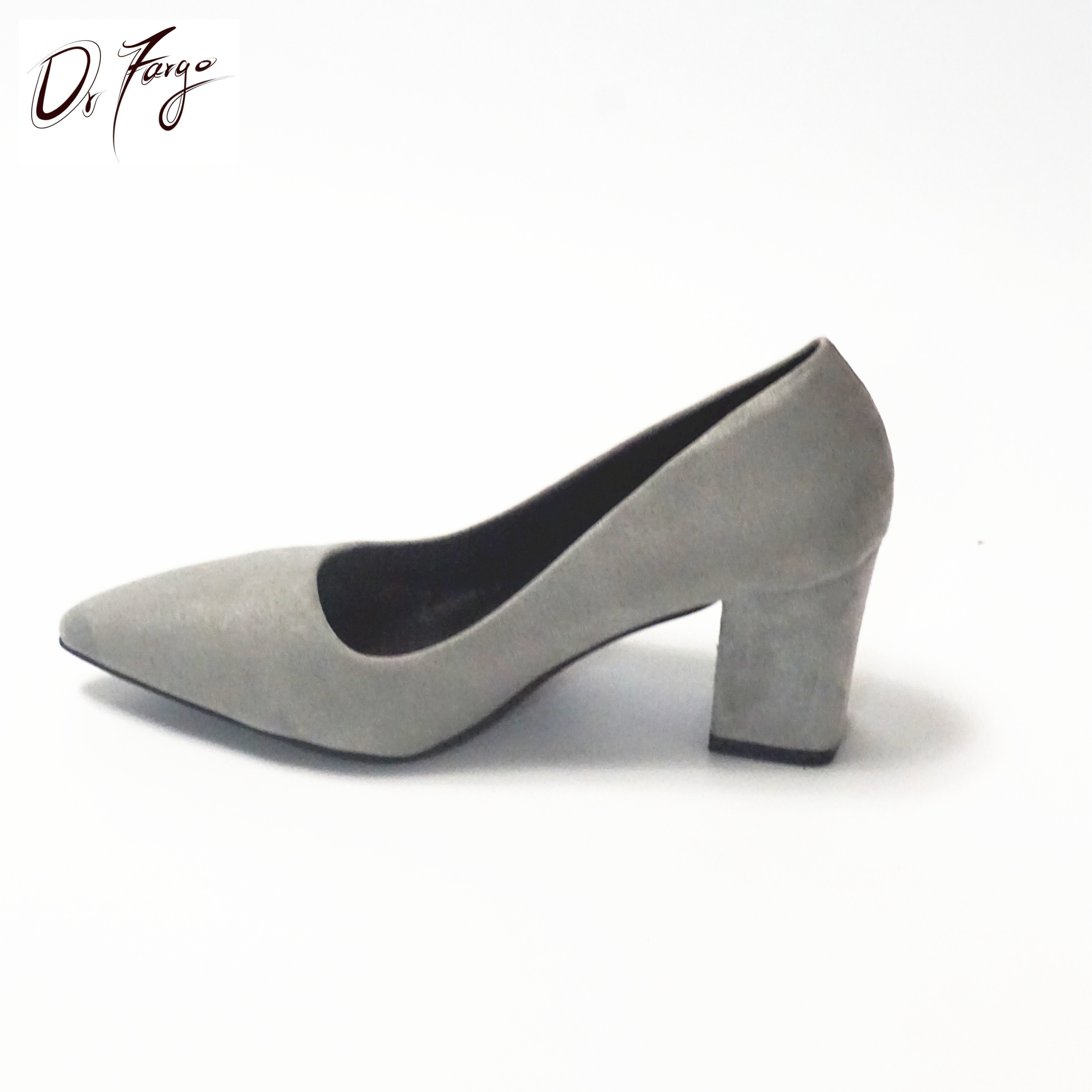56a91c6dc4f3 ... DRFARGO Women s 7.5 cm Block Heel Sexy Pointed Toe Woman Pumps Summer  Spring EUR 34 ...