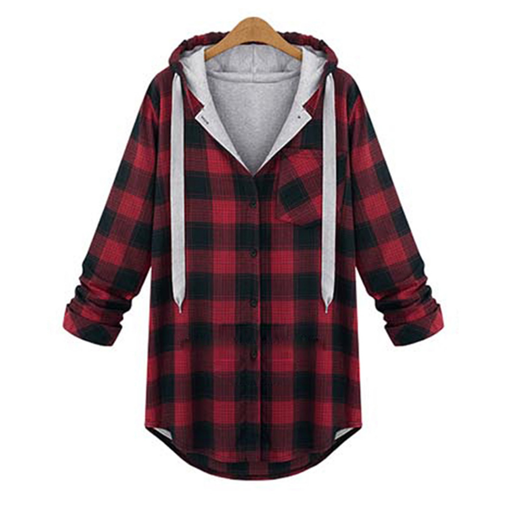 Compare Prices on Grey Plaid Jacket Women- Online Shopping/Buy Low ...