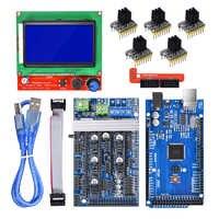 Ramps 1.6 board upgrade base on Ramps 1.4 1.5+Mega 2560+12864 LCD Display+A4988/TMC2130 Stepper motor driver 3d printer parts