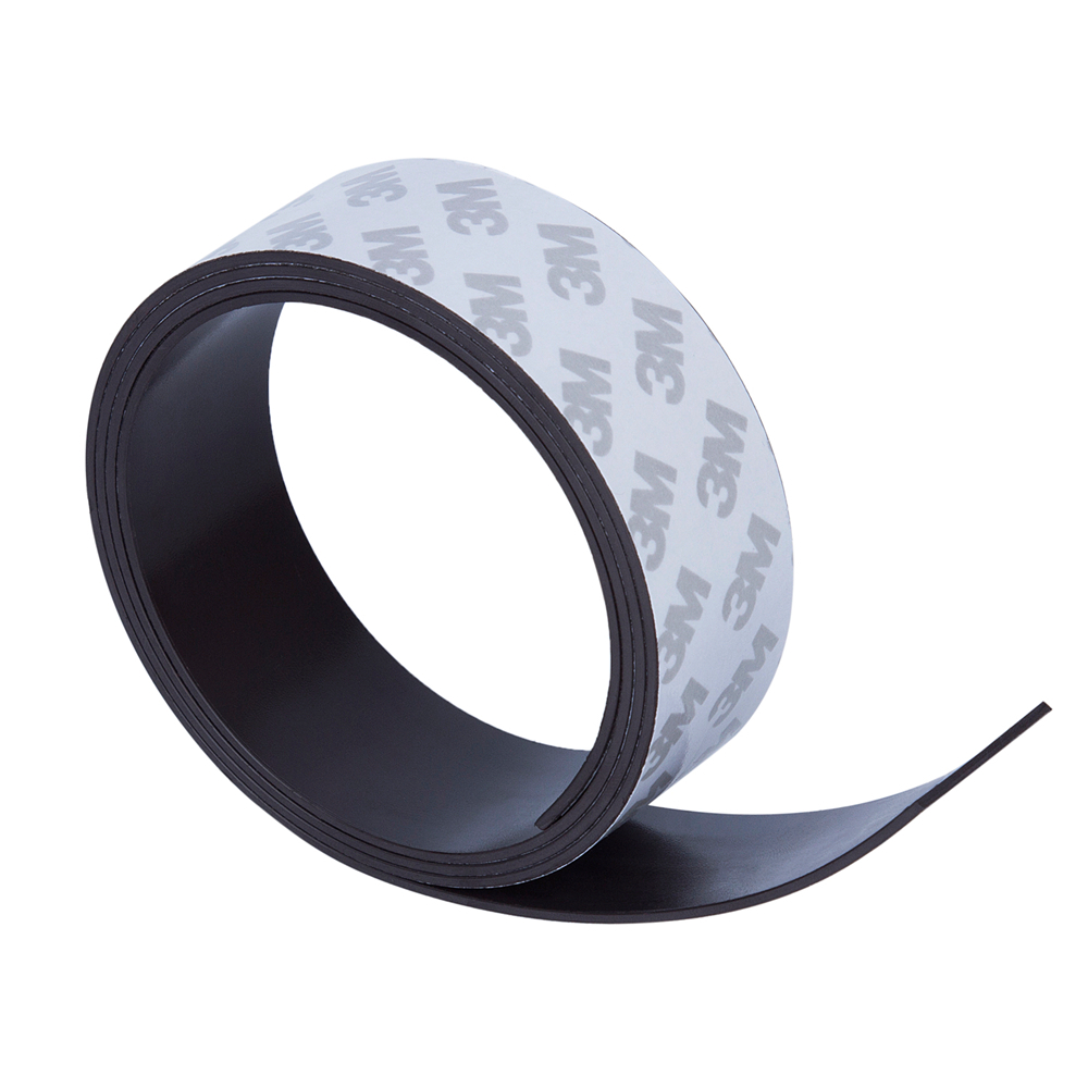 High Quality 30*1.5mm 1 Meter self Adhesive Flexible Magnetic Strip 3M Rubber Magnet Tape width 30mm thickness 1.5mm 30x1.5mm free shipping flexible magnetic strip rubber magnet width 1pcs 297x210x1mm wothout adhesive