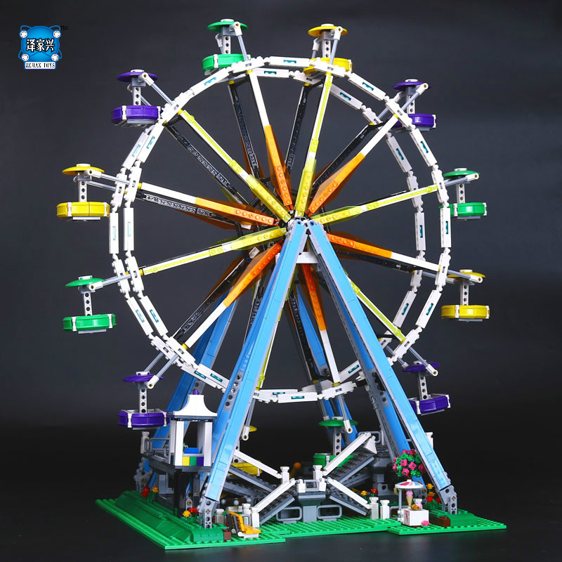 2478Pcs City Expert Ferris Wheel Model Building Kits Blocks Bricks Toys Compatible with  LEPINS Educational Figures Gifts aiboully friends series city park ferris wheel model building block girl toys kids gifts bricks minis compatible with