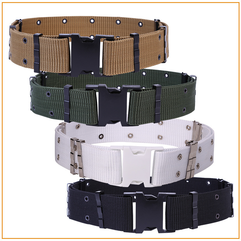 Military Equipment Cinturon Nylon   Belts   Men Buckle Canvas   Belt   Outdoors Military Strap Male Army Tactical   Belts   Ceinture Homme