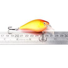 6pcs/lot Hard Fishing Lure Bait Crankbait Tackle Crank Swimbait Bass Pike Perch