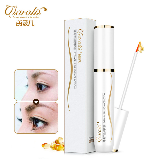 New Curling Eyelash Growth Treatments Liquid Lengthening Thick Essence Trophoblastic Eyelash Waterproof Makeup Freeshipping
