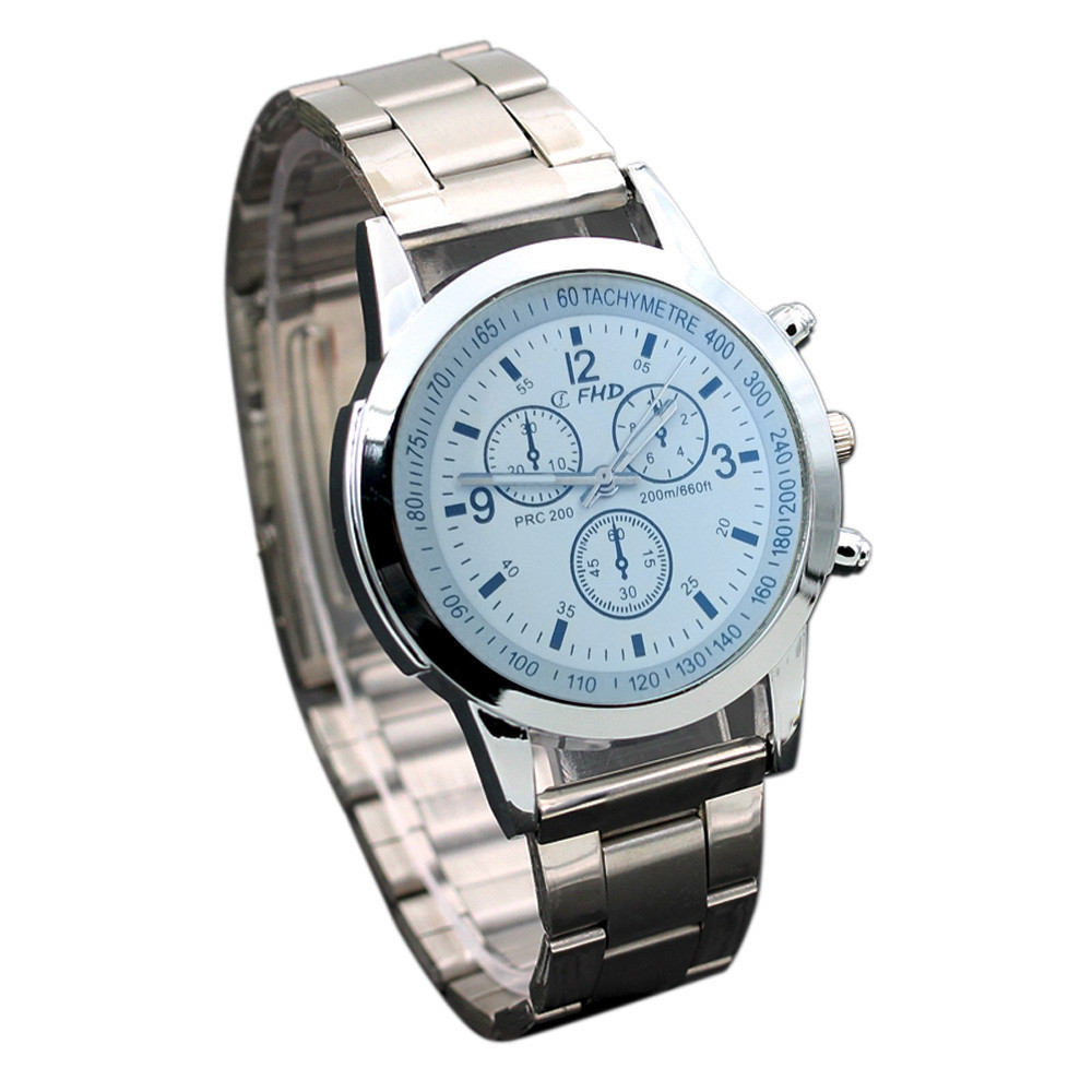 Alloy watch men watches Stainless Steel Sport Quartz Hour Wrist Analog Watch No waterproof Casual high quality Alloy Case 0515