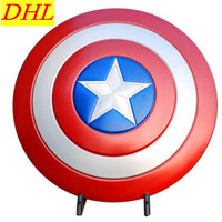 Captain America1:1(LIFE SIZE)Avengers Captain America Shield Superhero Cosplay Shield Action Figure Collectible Model ToyT128
