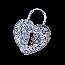 Jewelry Usb Flash Drive 1TB 128GB Pen Drive 64GB Heart Lock Pendrive 32GB Crystal Gift Hard Disk Gadget Usb Memeory Stick Drives
